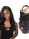 Laflare Brasilianskt hår 360 Fasad Vågigt Fria delen Schweizisk spetsperuk Äkta hår Dam Dam / Bästa kvalitet / Heta Försäljning Jul / Bröllop / Halloween