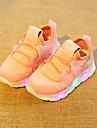 Pojkar Lysande skor Elastisk tyg Sneakers Småbarn (9m-4ys) / Lilla barn (4-7år) Vit / Svart / Rosa Sommar / Gummi