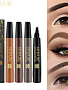 Ögonbryn Color varaktig Smink Ögonbryn Fuktig Vattentät Volym 4 färger Party Födelsedag Kosmetisk Skötselprodukter
