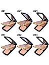 3 färger Torr Concealer / Naturlig Ansikte Mode Bärbar / Universell Övrigt Smink Kosmetisk Plastskal