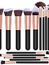 Professionell Makeupborstar 16st Fullständig Täckning Bekväm Trä / Bambu för Sminkborste