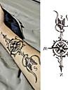 3 pcs tillfälliga tatueringar Vattenavvisande / Bästa kvalitet brachium Tatueringsklistermärken