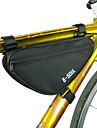 B-SOUL 1.8 L Väska till cykelramen Triangle Frame Bag Bärbar Hållbar Cykelväska Terylen Cykelväska Pyöräilylaukku Cykling Racercykel Mountain Bike Utomhus