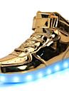 Pojkar / Flickor Lysande skor Lack Sneakers LED Silver / Blå / Rosa Vår / Gummi
