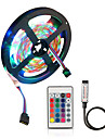2M LED Light Strips Flexible Tiktok Lights 5V USB Powered SMD 120 X 2835 8mm Color with 24 Keys IR Remote Control for TV Background Lighting PC Notebook Home Decoration