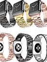 Watch kapela pro Apple Watch Series 4/3/2/1 Apple Sportovní značka / Klasická spona Nerez Poutko na zápěstí
