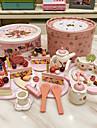 4st födelsedagstårta form trä lekstuga låtsas spela leksaker