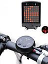 Laser LED Cykellyktor Blinkerljus Baklykta till cykel säkerhetslampor LED Bergscykling Cykel Cykelsport Vattentät Flera lägen Jätteljus Fjärrkontroll 100 lm Laddningsbart USB Cykling / ABS