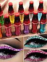 märke cmaadu färgglada blixt glänsande glitter pulver eyeliner vattentäta paljetter ögonskugga flytande ögon kosmetika