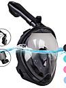 Dykmasker Heltäckande ansiktsmasker enda fönster - Simmning Silikon - Till Vuxen Grön / 180° / Läckagesäker / Anti-Dimma / Torrdräkt – överdel