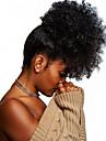 Klämma In / På Hästsvans Justerbar / Till färgade kvinnor / 100% Jungfru Remy-hår / Obehandlat Mänsligt hår Hårstycke HÅRFÖRLÄNGNING Lockigt Fulllängd Julklappar / Dagliga kläder