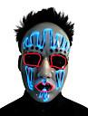LED Cosplay Kostymer / Dräkter Mask Maskerad Inspirerad av Vampyr Vit Halloween Jul Halloween Karnival Vuxna Herr Dam