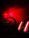 LED Cykellyktor Baklykta till cykel säkerhetslampor Bergscykling Cykel Cykelsport Vattentät Bärbar USB Varning USB 120 lm Laddningsbart USB Camping / Vandring / Grottkrypning Cykling - WEST BIKING®