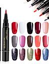 Nagellack UV-gel 1 pcs Stilig / Glamour Långvarig soak-off Bröllopsfest / Dagliga kläder / Datum Stilig / Glamour Moderiktig design / Bright Tone / Multifärgad