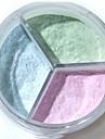 3 färger 1 pcs Torr Bärbar / vattenbeständigt Omvård / Ansikte # Nutida / Mode Lätt att bära / Lätt att använda Datum / Födelsedagsfest Smink Kosmetisk