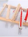 baoguang®10pcs regnbågens färger vävstol y vävare (slumpmässiga färger)