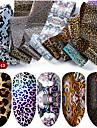 hnuix 10 färger nagelkonst stjärnaöverföring papper het försäljning regnbåge himmel japansk stil nagelfolie klistermärke nagellack klistermärke