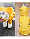 Hund Regnjacka Hundkläder Gul Grön Kostym Blandat Material Vattentät S M L XL XXL