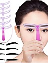 1set ögonbryn forma ögonbryn kort artefakt kort thrush thrush aids skönhetsverktyg smink smink ögonbryn verktyg