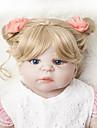 Reborn-dockor Babyflickor 22 tum Full Body Silicone - Barn Unge Unisex Leksaker Present