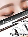 dubbel huvud ögonbryn penna vattentät ögonbryn penna med pensel smink kosmetiska verktyg