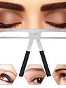 ögonbrynsformning stencils grooming kit makeup shaper set mall skönhetsverktyg justerbart sminkverktyg
