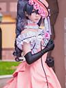 Inspirerad av Svart Butler Ciel Phantomhive Animé Cosplay-kostymer Japanska cosplay Suits / Klänningar Lappverk Ärmlös Klänning / Handskar / Rosett Till Herr / Dam / Hatt / Slips / Victoriansk