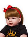 Reborn-dockor Babyflickor 24 tum Barn Unge Unisex Leksaker Present