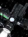 LED Cykellyktor LED-Ficklampor Framlykta till cykel Framljus till cykel Bergscykling Cykel Cykelsport Vattentät Stretch Bärbar Quick Release Uppladdningsbart litiumjonbatteri 400 lm Vit Camping