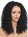 Syntetiska peruker Afro Kinky Frisyr i lager Peruk Medium längd Svart Syntetiskt hår 40~44 tum Dam Ny ankomst Svart