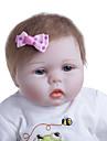 Reborn-dockor Babyflickor 22 tum Barn Unge Unisex Leksaker Present