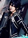 Inspirerad av SAO Swords Art Online Kirito Animé Cosplay-kostymer Japanska cosplay Suits Enfärgad Långärmad Byxor / Handskar / Kappa Till Herr / Dam