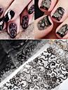 10 pcs Snör åt klistermärken Romantisk serie nagel konst manikyr Pedikyr Slim design Stilig / Vintage Dagligen / Festival