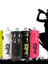Nuckily Cykel Vattenflaskor BPA Free Bärbar Lättvikt Läckagesäker Giftfri Till Cykelsport Racercykel Mountain Bike Camping Utomhus Löpning PP Grå Fuchsia Ljusgul