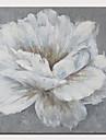 プリント キャンバス地プリント - 植物の 花柄 / 植物の コンテンポラリー 近代の アートプリント
