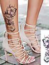 5 st sexig romantisk mörk ros blommor tatuering ärm flash henna tatueringar falska vattentät tillfälliga tatueringar klistermärken översatt tatueringar
