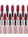 12 pcs 12 färger Vardagsmakeup Vattentät / Läppar / Lätt att använda Fuktig / Matt Fukt / Långvarig / vattenbeständigt Ljuv / Mode Smink Kosmetisk Skötselprodukter