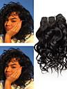 1 Bundle Brasilianskt hår Lockigt Klassisk Obehandlad hår Human Hår vävar 8 tum Hårförlängning av äkta hår Människohår förlängningar / 10A