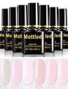 6 st färg 199-204 flätad avdragbar UV / led gel nagellack färgfärg nagellack uppsättningar