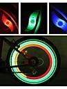 LED Cykellyktor säkerhetslampor hjul lampor Cykellampor Bergscykling Cykel Cykelsport Vattentät Flera lägen Analog bakgrundsbelysning CR2032 batteri Cykling Motorcykel / IPX-4