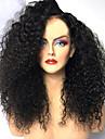 Syntetiska peruker Afro Kinky Frisyr i lager Peruk Medium längd Svart Syntetiskt hår 42~46 tum Dam Ny ankomst Svart