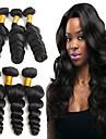6 paket Indiskt hår Löst vågigt Äkta hår Obehandlat Mänsligt hår Huvudbonad Human Hår vävar bunt hår 8-28 tum Naurlig färg Hårförlängning av äkta hår Bästa kvalitet Heta Försäljning Tjock Människohår