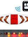 LED Cykellyktor Blinkerljus Baklykta till cykel säkerhetslampor Bergscykling Cykel Cykelsport Vattentät Bärbar Fjärrkontroll Trådlös AAA 15 lm Röd Gul Cykling / Quick Release / ABS