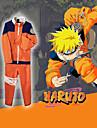 Inspirerad av Naruto Naruto Uzumaki Animé Cosplay-kostymer Japanska cosplay Suits Lappverk Långärmad Kappa / Byxor Till Herr / Dam