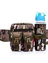 0-10L Bältesväska Militär taktisk ryggsäck Multifunktionell Vattentät Slitstyrka Utomhus Camping Nylon Svart Beige Kaffe