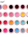 lily angel 24 färger set gel måla nagelkonst set färgglada målning gel hög kvalitet nagelkonst uv gel polish