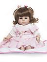 Reborn-dockor Babyflickor 18 tum Barn Unge Unisex Leksaker Present