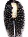 Syntetiska peruker Kroppsvågor Frisyr i lager Peruk Väldigt länge Svart Syntetiskt hår 62~66 tum Dam Ny ankomst Svart