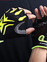 Mysenlan Bike Gloves / Cycling Gloves Mountain Bike Gloves Mountain Bike MTB Breathable Anti-Slip Sweat-wicking Protective Fingerless Gloves Half Finger Sports Gloves Terry Cloth Silicone Gel Red