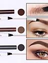 smakup 3 färger ny fyra klo ögonbryn penna vattentät lång hållbar ögonbryn penna smink fyrklo flytande ögonbryn penna borste